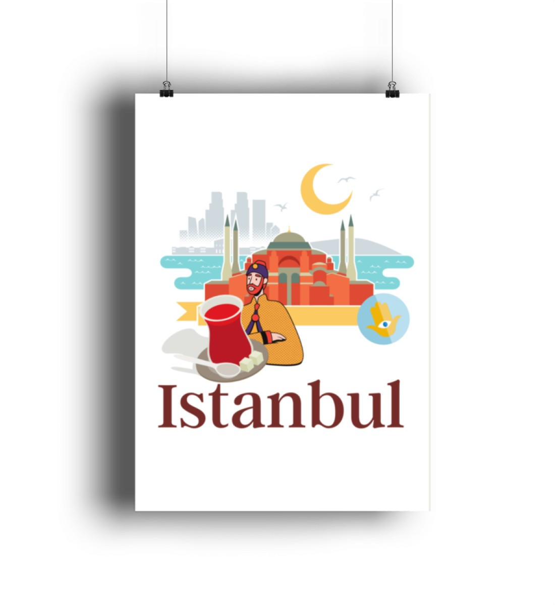 Istanbul Cay Keyfi - Poster-6864